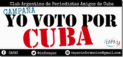 Yo voto por Cuba 2