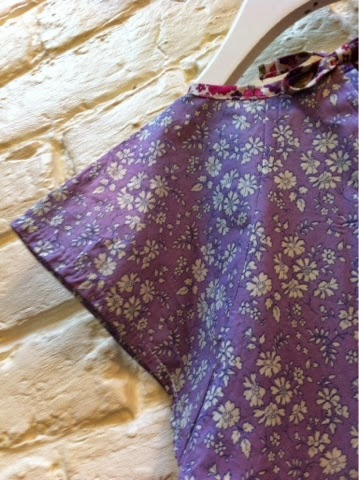 Top Liberty mauve