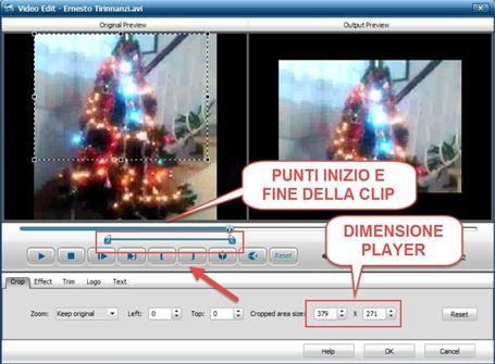 selezionare-clip-video