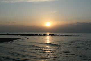 Izlazak sunca iznad Sjevernog mora