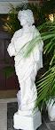 Greco/Roman White Statue