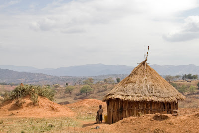 Rural home in southwest Ethiopia