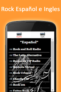 Musica Rock en tu idioma - screenshot