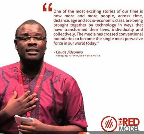 Chude Jideonwo, Managing partner, Redmedia