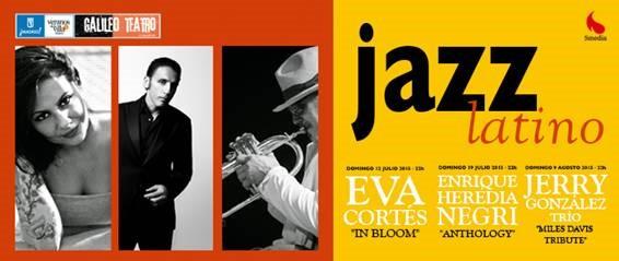 Ciclo de jazz latino de terraza del Galileo