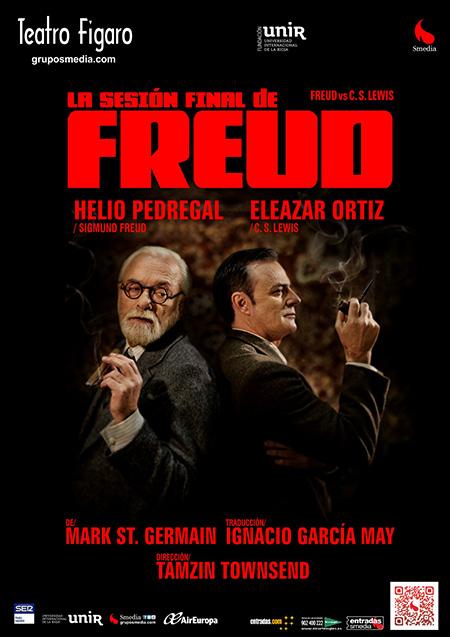 La sesión final de Freud, en el Teatro Fígaro