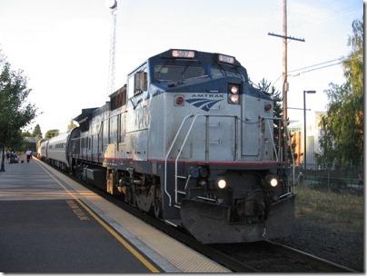 IMG_8430 Amtrak B32-8WH #507 in Salem, Oregon on August 15, 2007