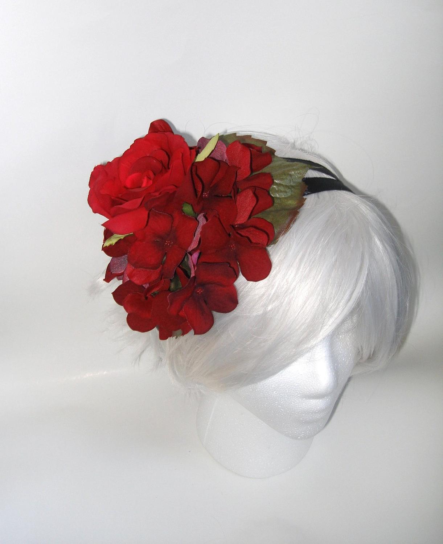 Crimson Red Rose Hydrangea