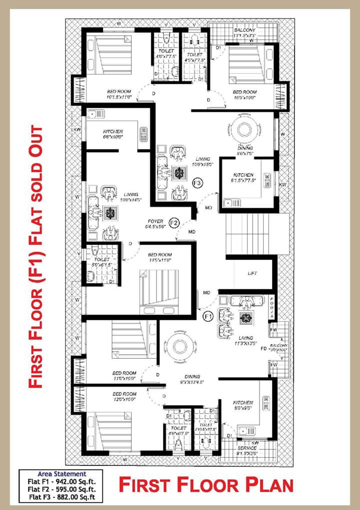 Two bedroom house plan in chennai house design plans for Chennai home designs and plans