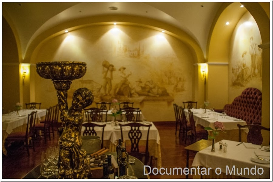 O restaurante Rabelo, The Vintage House Douro