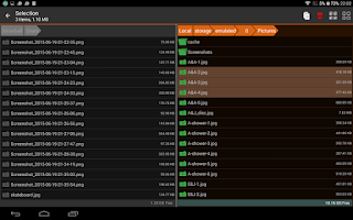 Screenshot of MissingLink - WiFi remote/sync