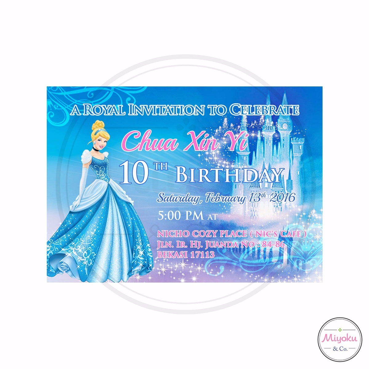 Comment on this picture ulang tahun anak contoh undangan kartu apps - Design Undangan Ulang Tahun Cinderella