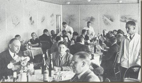 Klein in dining room