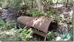 Older culvert pipe