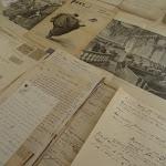 Hôtel de la Porte : Musée du Barreau de Paris, documents relatifs à l'Affaire Dreyfus (Lettres des Îles du Salut, 6 décembre 1897)
