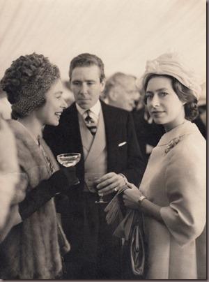 Princesa Margareth e Rainha Elizabeth