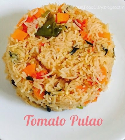 Tomato Pulao Rice varieties