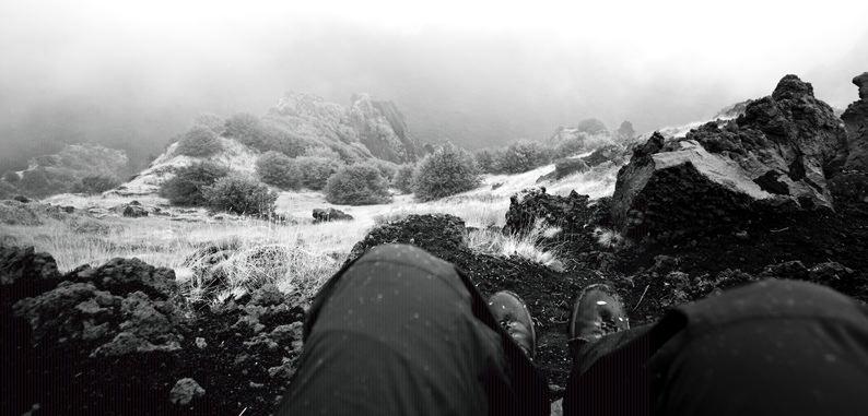 The edge of Valle del Bove