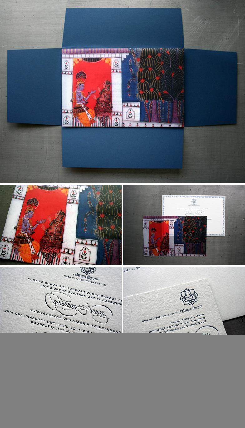 Indian Wedding Invitations by