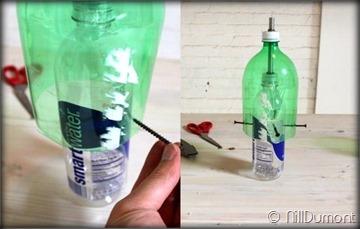 Criando luminária com Pet e cimento-010