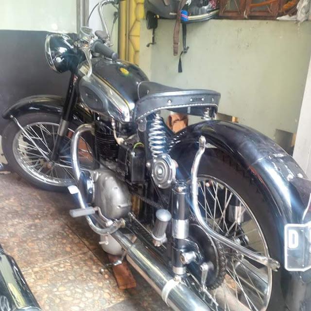 BSA 1952 Simpenan Antik Motor Dijual