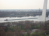 The St Louis Arch from our hotel room window 03202011c