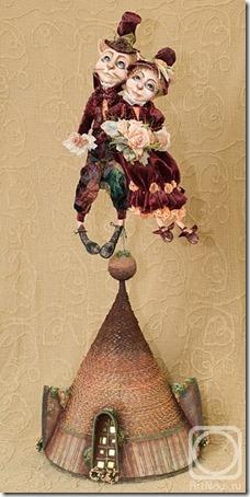 Muñecas de Nadezhda Sokolova Djembe  (2)