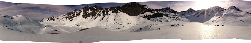 Panoramic near upper Reed Lake