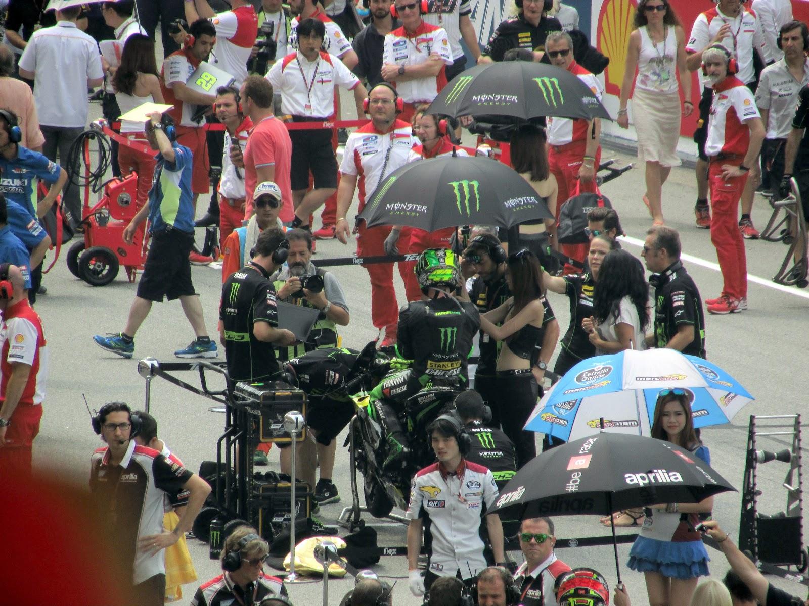 Persiapan Moto GP