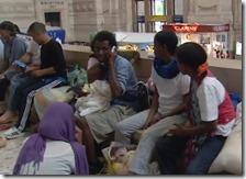 Migranti in stazione