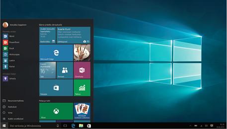 windows 10 työpöytä suomi - virallinen (c) 2015 Microsoft