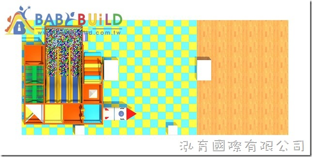 BabyBuild 室內兒童遊樂器材設計