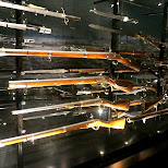 weapons at Dutch National Military Museum Soesterberg in Soest, Utrecht, Netherlands