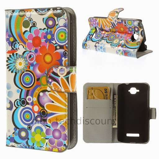 Housse etui coque portefeuille pour alcatel one touch pop for Housse alcatel one touch