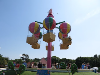 One of the many rides at Peppa Pig World