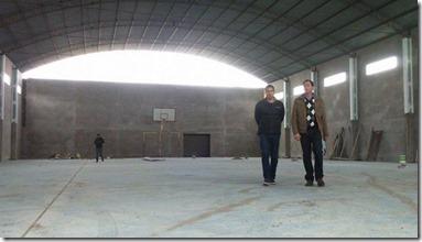 El intendente recorrió la obra para el barrio San Cayetano