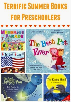 Summer books and summer projects for preschoolers
