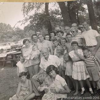 John Niehaus Family, 1955 Family Reunion
