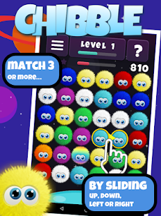 Game Chibble -The Best Match 3 Game apk for kindle fire