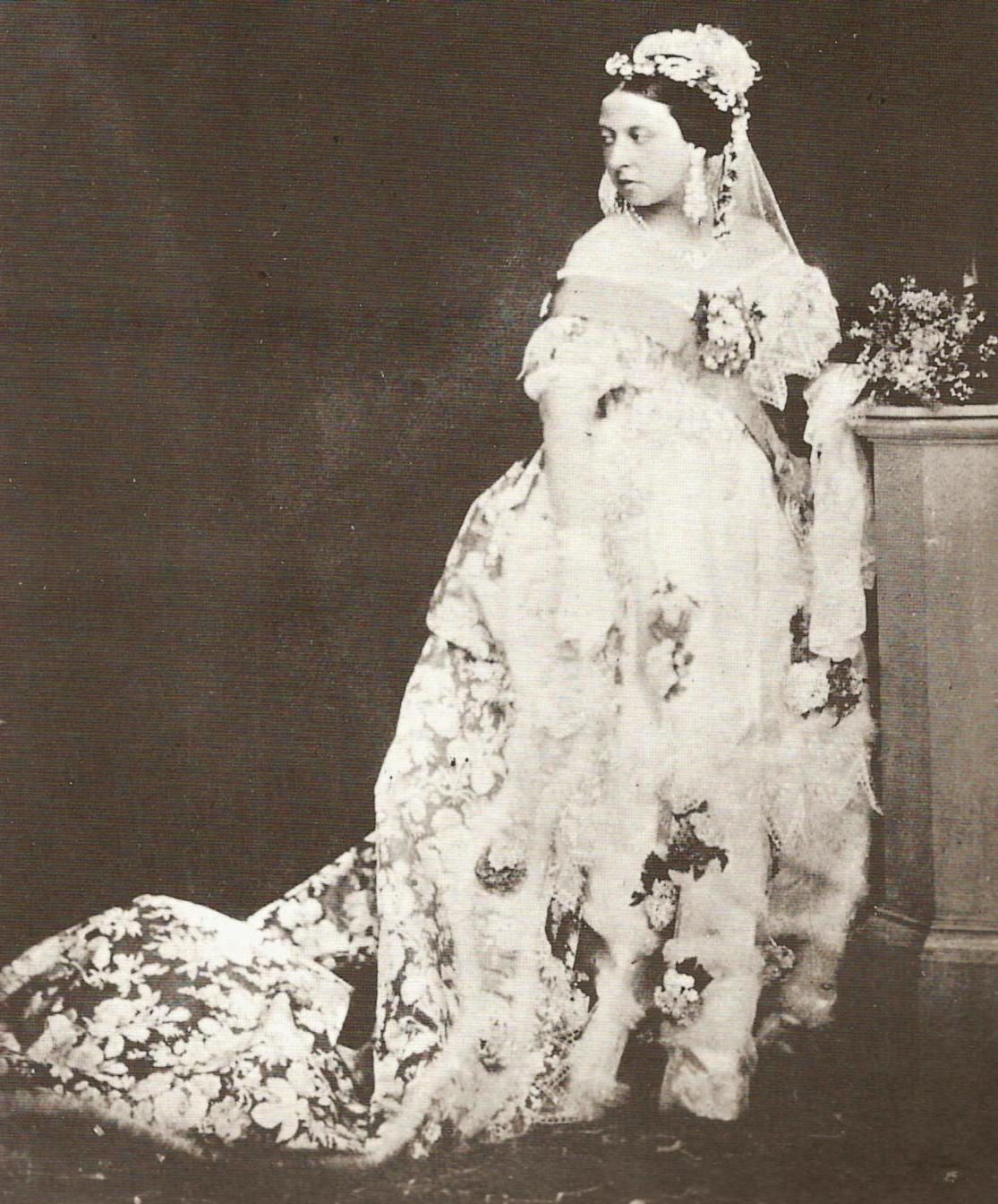 Frame One: Queen Victoria