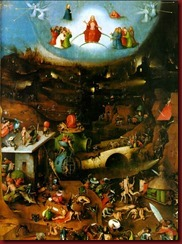 Last Judgement, central panel of the triptych