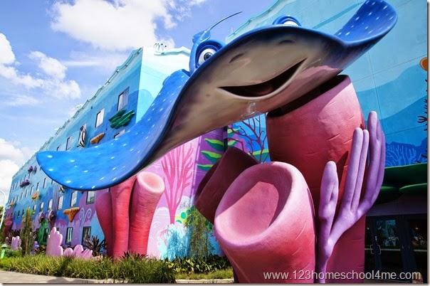 Art of Animation Disney World Hotel