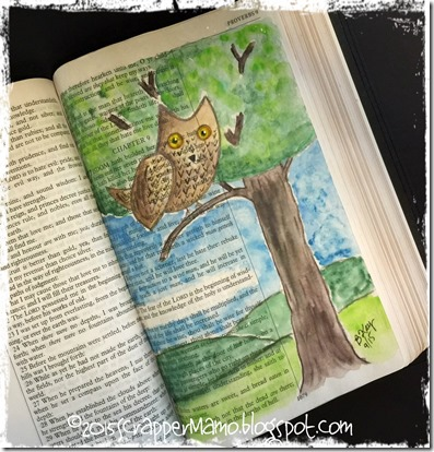 Bible Art Journaling Prov 9-10
