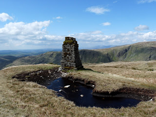 Tarn Crag summit Survey Pillar