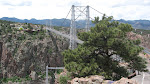 The eponymous view of the Royal Gorge bridge