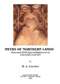Cover of Helene Adeline Guerber's Book Myths of Northern Lands