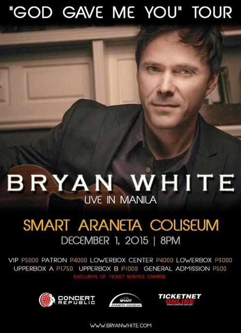 Bryan White Live in Manila