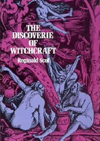 Cover of Reginald Scot's Book The Discoverie of Witchcraft