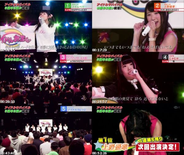 [TV-Variety] アイドルお宝くじ LIVE – 2015.12.26