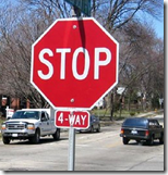 [stop sign]